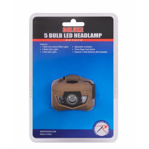 Rothco LED Headlamp, , hi-res