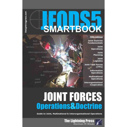 The Joint Forces Operations & Doctrine SMARTbook 5th Ed., , hi-res