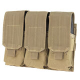 Condor Triple M4 Mag Pouch With Hook And Loop Flap, , hi-res