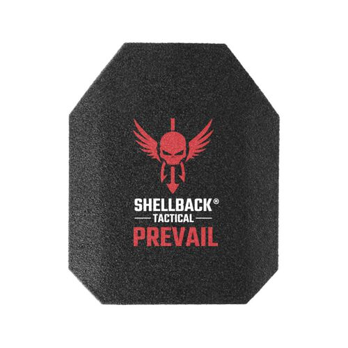 """Shellback Tactical Prevail Series Level III 10"""" x 12"""" Stand Alone Hard Armor Plate - Model AR1000, , hi-res"""