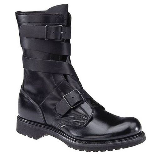 "Corcoran Tanker 10"" Black Leather Boots, , hi-res"