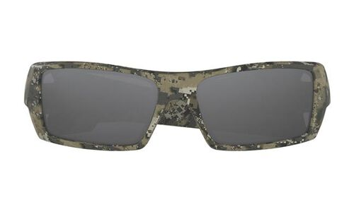 Oakley Si Gascan Desolve Collection Desolve Bare Frame Sunglasses With Black Iridium Lenses, , hi-res