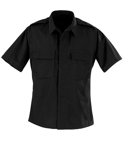 Propper Poly Cotton Ripstop 2 Pocket Short Sleeve BDU Shirt F5456, , hi-res