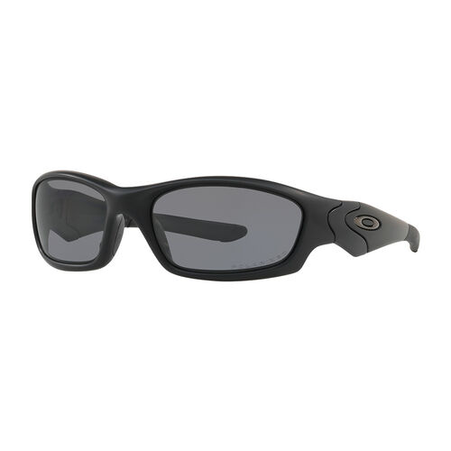 Oakley Si Straight Jacket Matte Black Frame Sunglasses With Grey Polarized Lenses, , hi-res