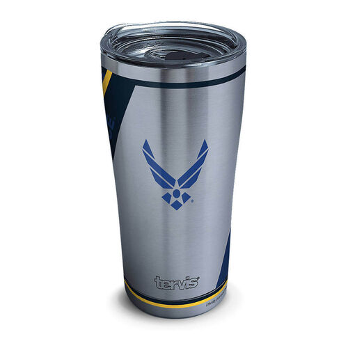 Tervis 20 oz Stainless Steel Air Force Tumbler with Lid, , hi-res