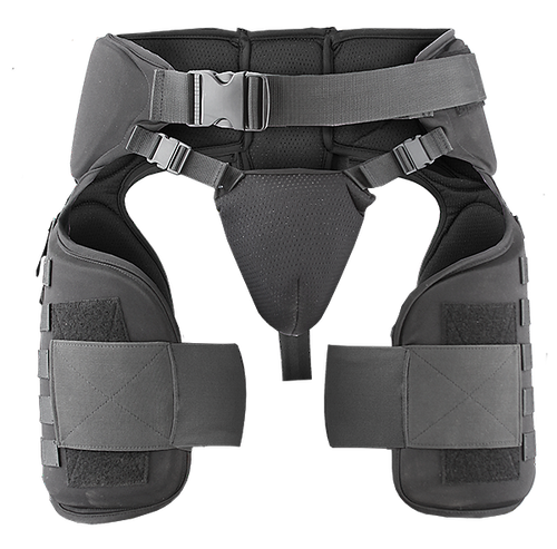 Damascus Gear Imperial Thigh/Groin Protector With Molle System, , hi-res