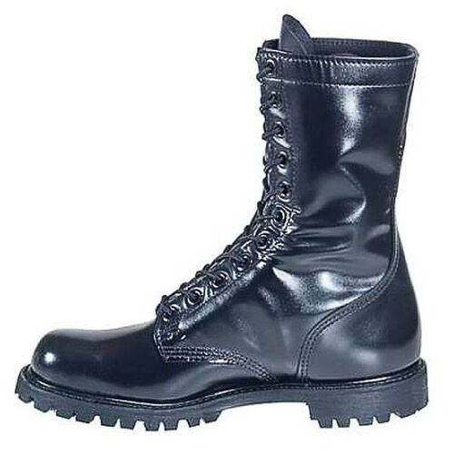 """Corcoran Plain Toe 10"""" Leather Combat Boots with Lug Outsole, , hi-res"""