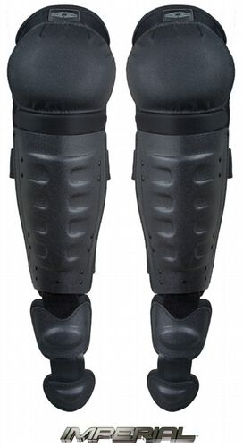Damascus Gear Hard Shell Shin Guards With Non-Slip Knee Caps, , hi-res