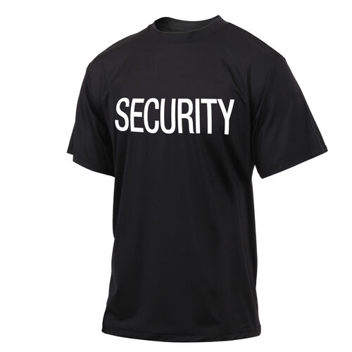 Rothco Quick Dry Performance Security Tee-Shirt, , hi-res