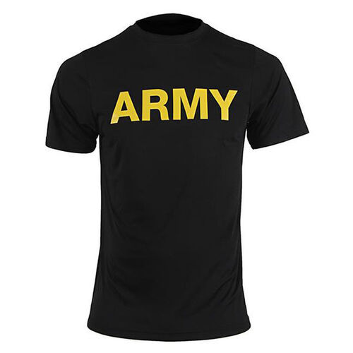 Soffe US Army New APFU Short Sleeve PT Shirt for Optional PT Wear, , hi-res