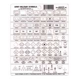 RM Products Army Symbols Protractor, , hi-res