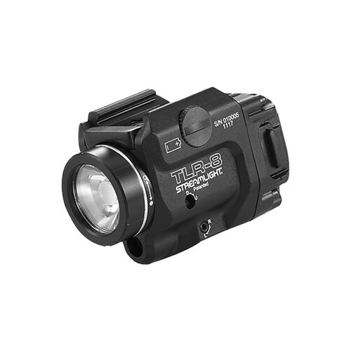 Streamlight TLR-8® Weapon Light with Red Laser and Side Switch, , hi-res