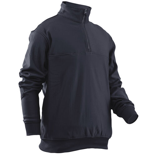 Tru-Spec 1/4 Zip Grid Fleece Job Shirt, , hi-res