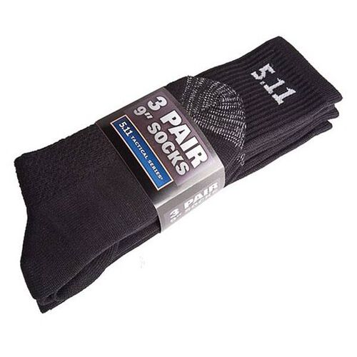 5.11 Tactical 3 Pack 9 inch Socks, , hi-res