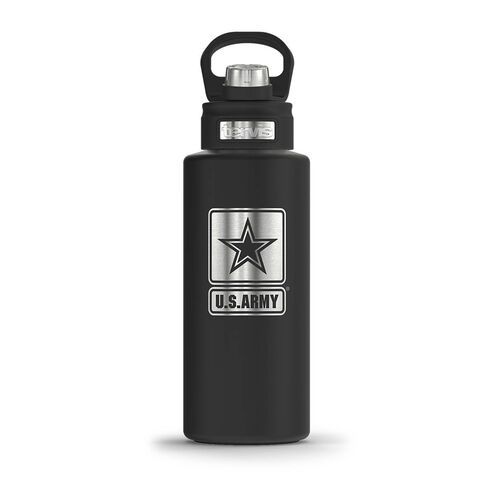 Tervis Army 32 oz Wide Mouth Stainless Steel Water Bottle, , hi-res