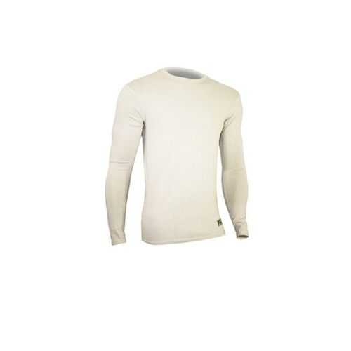 Xgo Phase 4 Compression Crew T Shirt (White), , hi-res