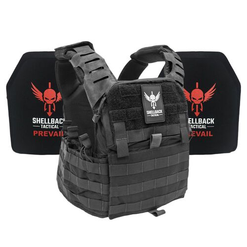 Shellback Tactical Banshee Elite 2.0 Lightweight Armor System with Level III LON-III-P Plates, , hi-res