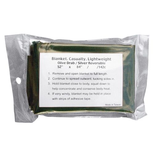 Rothco Lightweight Combat Casualty Blanket, , hi-res