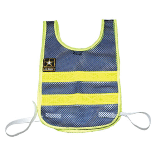 Drill Sergeant Running Vest w/Army Patch (Blue/Yellow), , hi-res
