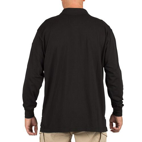 5.11 Tactical Men's Long Sleeve Polo Jersey, , hi-res