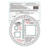 US Patriot Tactical Military 5 Inch Diameter Round Protractor, , hi-res
