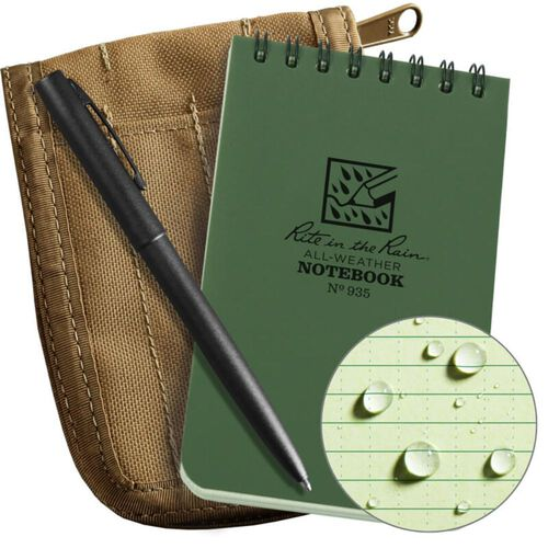 "Rite In The Rain 3"" x 5"" Top Spiral Notebook Kit, , hi-res"