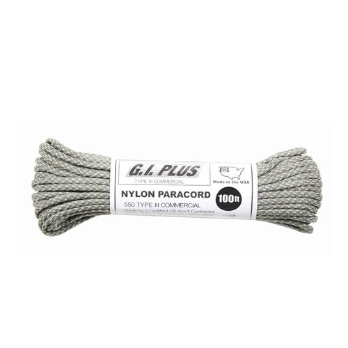 Rothco Nylon 550 Paracord Type III 100 Ft ACU Digital, , hi-res
