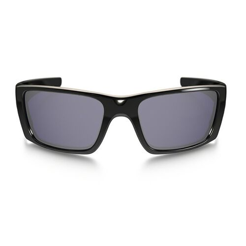 Oakley Fuel Cell Polished Black Frame Sunglasses with Warm Grey Lenses, , hi-res