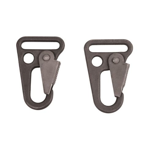 Blackhawk Metal 1 Inch Heavyduty Alligator Claw Snaphooks Set Of Two | U.S. Patriot, , hi-res