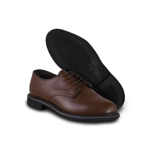 Altama Dress Oxford Brown Leather Shoes, , hi-res