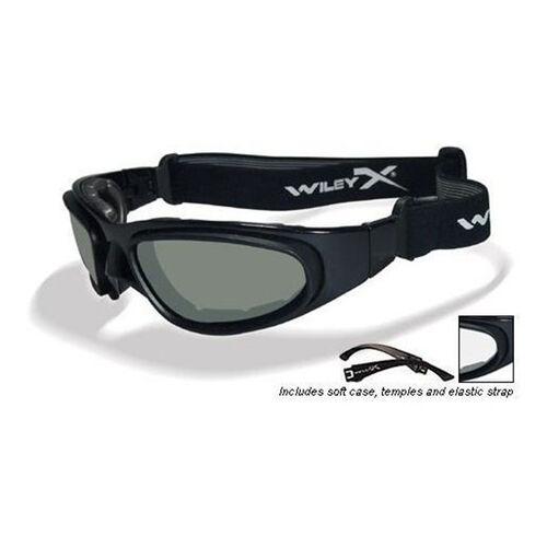 Wiley X SG-1M Grey Clear Lens Asian Fit Goggles SG-1M, , hi-res