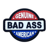 Genuine Bad Ass American Patch PVC, , hi-res