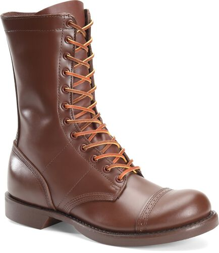 Corcoran Brown Leather Jump Boots, , hi-res