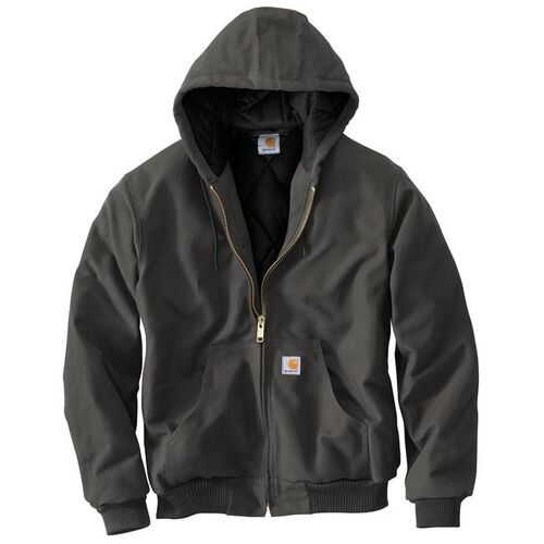 Carhartt Duck Quilted Flannel-Lined Active Jacket, , hi-res