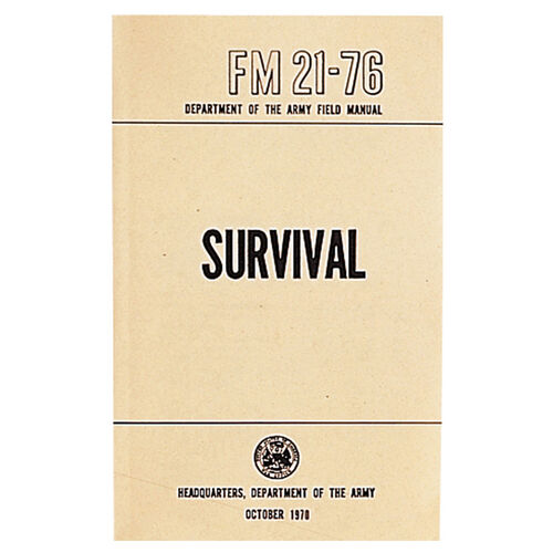 5ive Star Gear Survival Manual, , hi-res