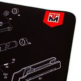 "TekMat Remington 870 Ultra Premium 15""x44"" Gun Cleaning Mat, , hi-res"