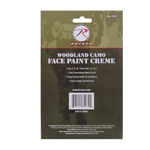 Rothco Camouflage Face Paint Creme, , hi-res