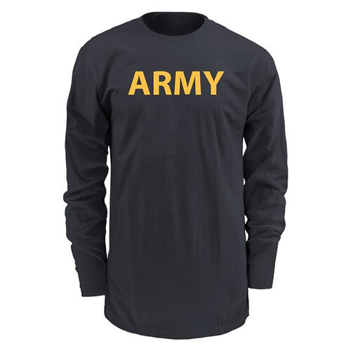 Soffe US Army New APFU Long Sleeve PT Shirt for Optional PT Wear, , hi-res