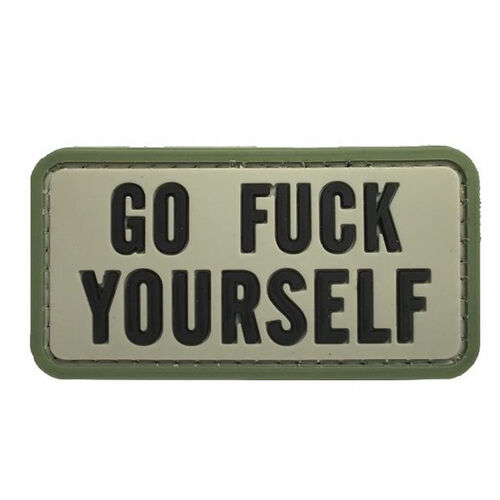Go Fuck Yourself PVC Morale Patch, , hi-res