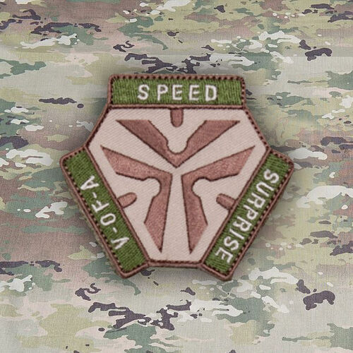 Trigger Pull Logo Patch Mil-Spec Monkey Morale Patches, , hi-res