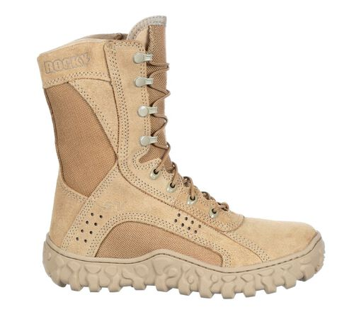 Rocky S2V Tan Special Ops Vented Military Boots, , hi-res