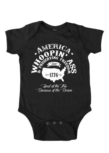 Nine Line Apparel - Infant Morale Onesie - Whoopin' Ass, , hi-res