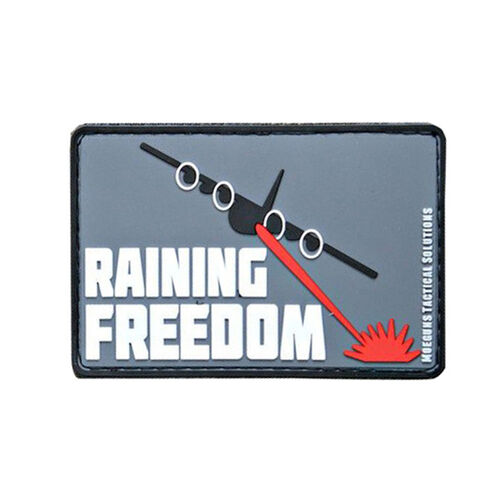 Raining Freedom PVC Morale Patch, , hi-res