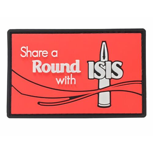 Nine Line Apparel Share A Round With ISIS PVC Patch, , hi-res