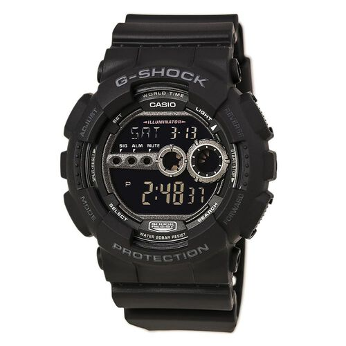 Casio G-Shock World Timer Digital Dive Watch, , hi-res