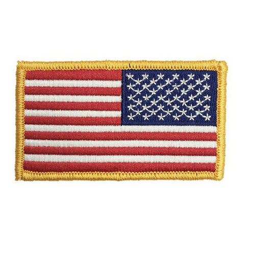 Full Color Reverse US Flag Patch with Hook, , hi-res