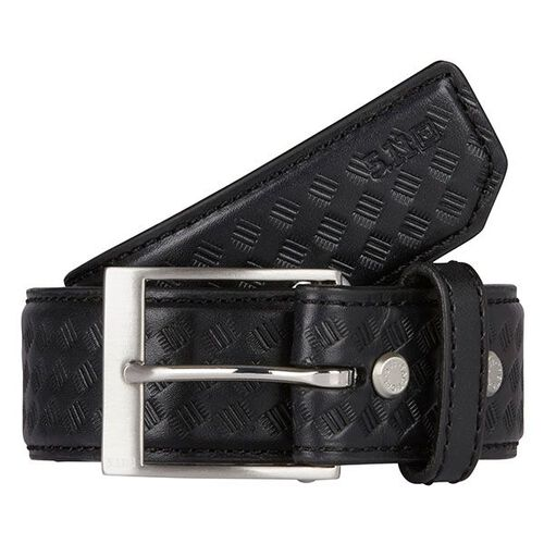 5.11 Tactical Casual Leather 1.5 inch Basketweave Belt, , hi-res