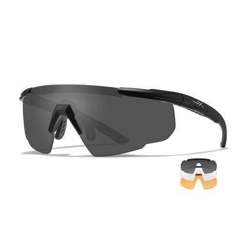 Wiley X Saber Advanced 3 Lens Sunglasses System, , hi-res