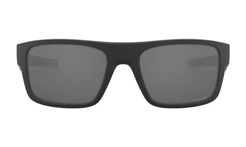 Oakley Drop Point Matte Black Frame Sunglasses with Prizm Black Polarized Lenses, , hi-res