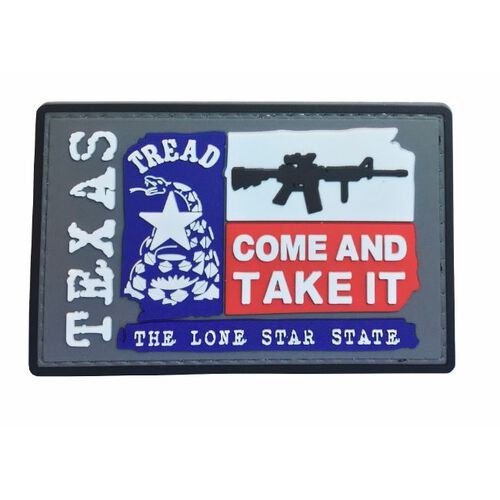 Nine Line Texas Come And Take It Pvc Patch, , hi-res